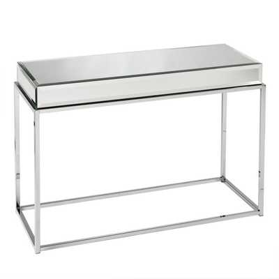 Upton Home Adelie Mirrored Sofa/ Console Table - Overstock
