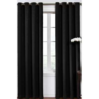 "Round and Round Curtain Single Panel 84"" L x 52"" W - Wayfair"