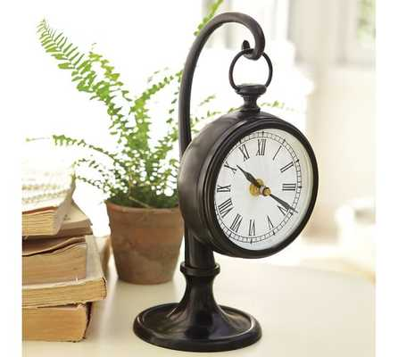 Pendant Clock, Dark Bronze - Pottery Barn