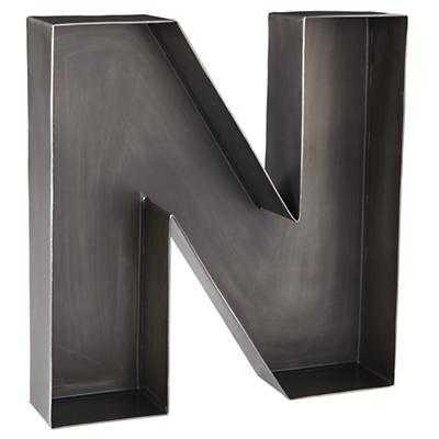 N Magnificent Metal Letter - Land of Nod