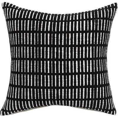 "Prim 18"" pillow with down-alternative insert - CB2"