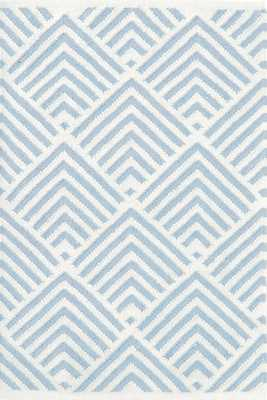 Cleo Blue Indoor/Outdoor Rug - Dash and Albert