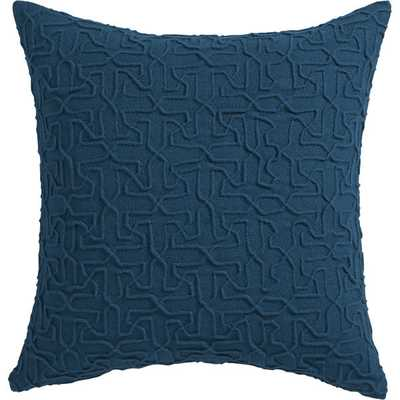 Woolsley pillow with down-alternative insert - CB2
