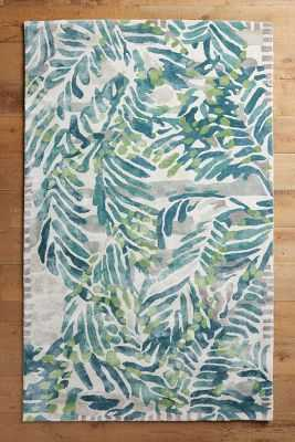 Wild Palm Rug - 5' x 8' - Anthropologie