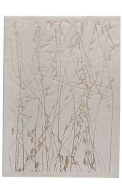 "Trading Modern Lights Fabaceae Rug - White, 7' 10"" x 9' 10"" - Rugs USA"