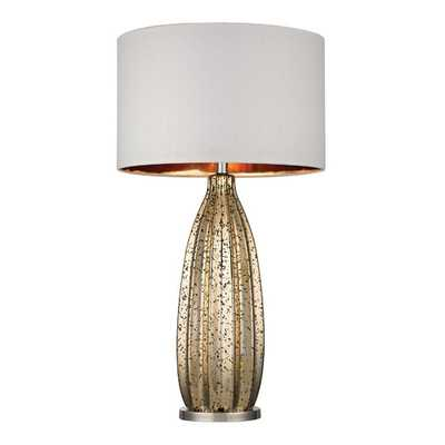 """Jacqui 30.5"""" H Table Lamp with Drum Shade - AllModern"""