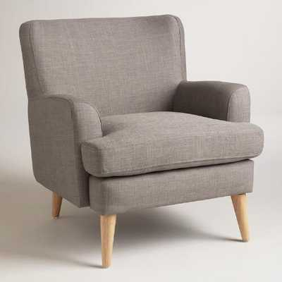 Dolphin Gray Blakely Chair - World Market/Cost Plus