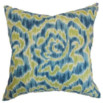 "Laserena Aqua Green Down Filled Throw Pillow - 18"" x 18"" - Overstock"
