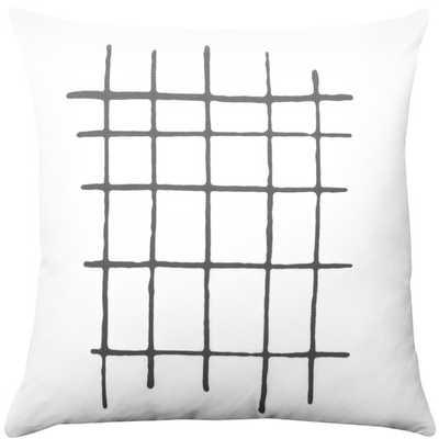 Stripe Throw Pillow -18x18- Polyester/Polyfill - AllModern