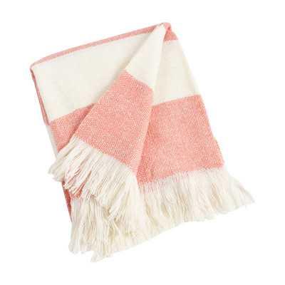 Saro Striped Throw - Wayfair