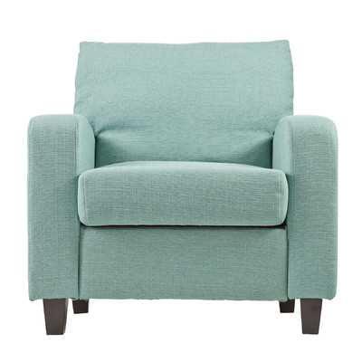 Adeline Arm Chair-Turquoise - Wayfair
