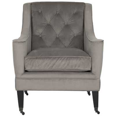 Sherman Arm Chair - Mushroom Taupe - AllModern