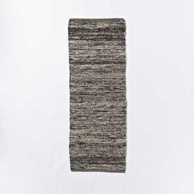 Sweater Wool Rug - Charcoal - West Elm