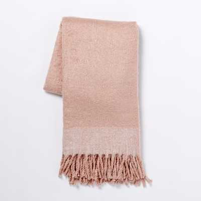Cozy Texture Throw - Rosette - West Elm