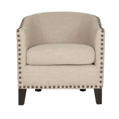 Stevie Club Nailhead Trim Chair - Overstock