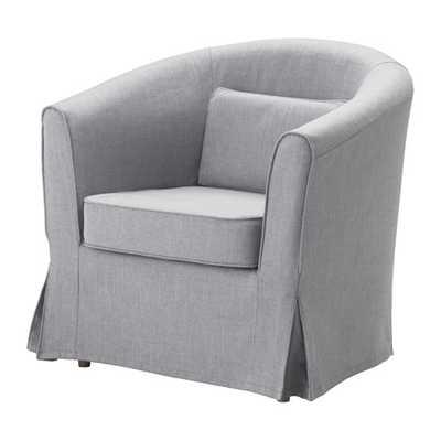 TULLSTA Chair, Nordvalla medium gray - Ikea