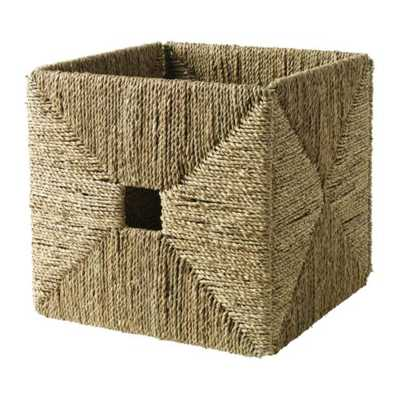 KNIPSA Basket - Seagrass - Ikea