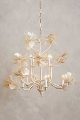 Pearled Magnolia Chandelier - Anthropologie