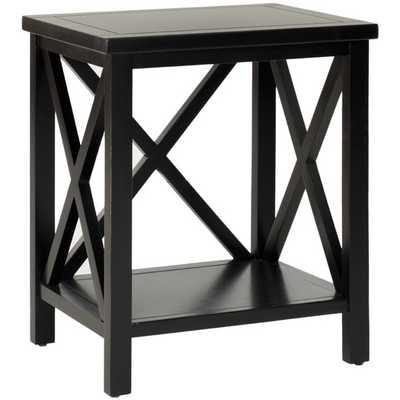 Newbury End Table, Black - AllModern