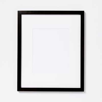 "Gallery Frames - Black - 14"" x 17"" - West Elm"