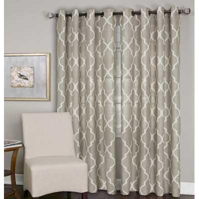 "Medalia Window Curtain Panel- 95"" L x 52"" W - Wayfair"