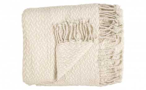 CHUNKY WOOL THROW - Jayson Home