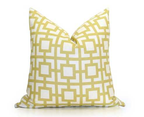 "Goldenrod Decorative Pillow Cover - 18"" x 18"" - Insert Sold Separately - Etsy"