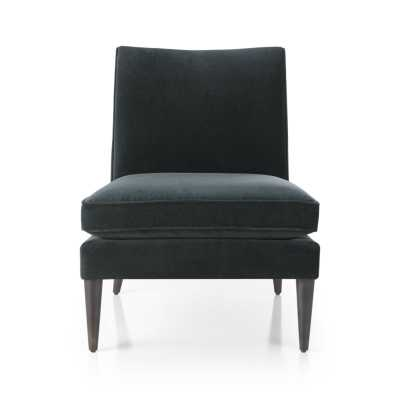 Callie Chair-Teal - Crate and Barrel