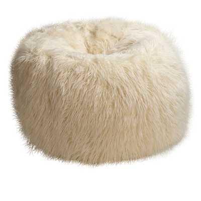 Furlicious Faux Fur Slipcover + Beanbag Insert - Large - Pottery Barn Teen