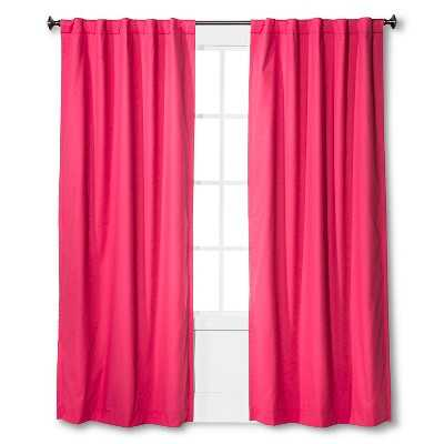 "Twill Light Blocking Curtain Panel Stripe - 84"" - Target"