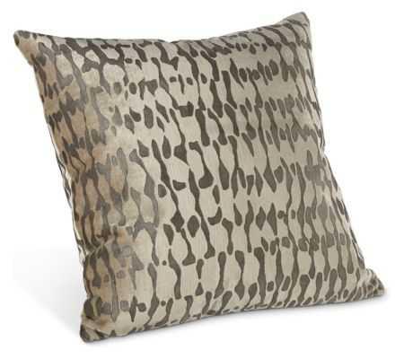 "Galbraith & Paul Rain Pillows - 18"" x 18"" - Charcoal - Room & Board"