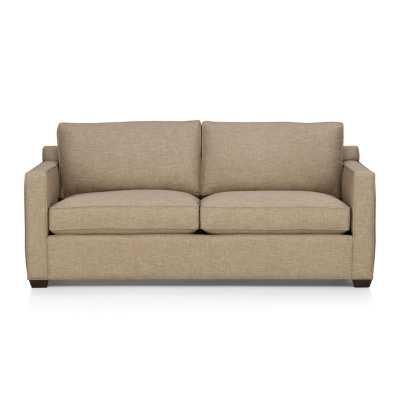 Davis Queen Sleeper Sofa - Mink - Crate and Barrel