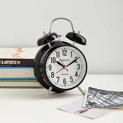London Alarm Clock - Black - West Elm
