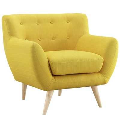 Remark Arm Chair - Sunny - AllModern