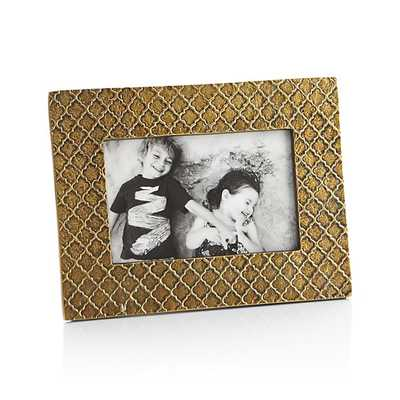 Melina 4x6 Picture Frame - Crate and Barrel