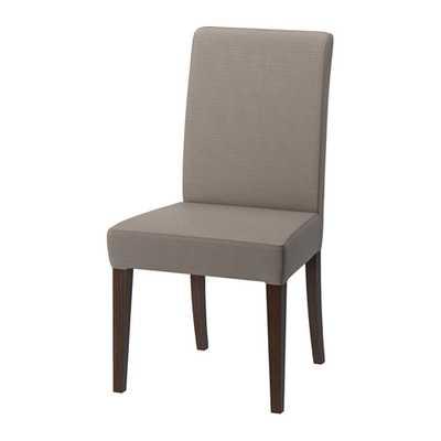 HENRIKSDAL Chair - Nolhaga Gray-Beige - Ikea