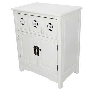 Heather Ann 2-door, Single Drawer Accent Cabinet - Overstock