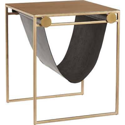 SAIC sling nightstand-side table - CB2