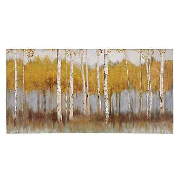 Edge of Autumn - 59.5''W x 30''H  - Unframed - Z Gallerie