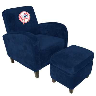 MLB Den Chair and Ottoman - Los Angeles Dodgers - Wayfair