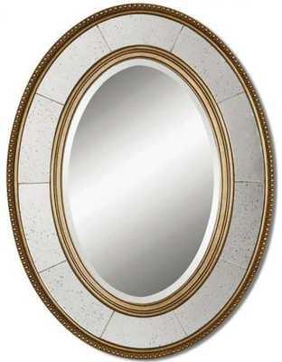 Lara Oval Mirror - Home Decorators