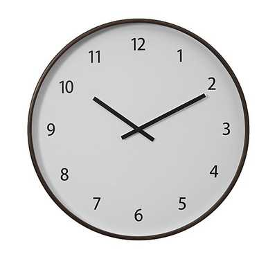Lorne Wall Clock - Crate and Barrel