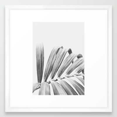 "PALM Art Print - 22"" x 22"" - Vector White Frame with Mat - Society6"