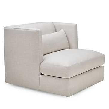 Pierce Swivel Chair - Natural - Z Gallerie