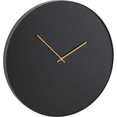 "Tick-Chalk 19.75"" Clock - Domino"