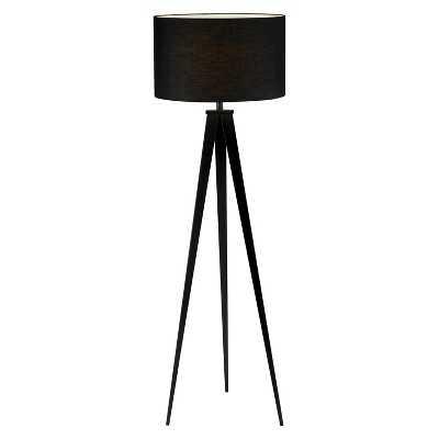 Adesso Director Floor Lamp - Black - Target