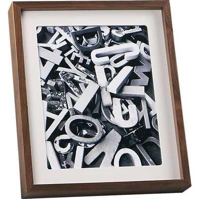 Walnut 8x10 frame. - CB2