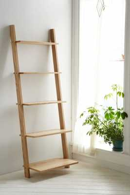Leaning Bookcase - Brown - Urban Outfitters