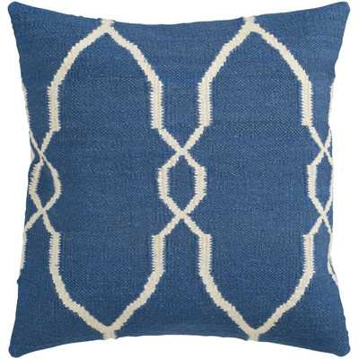 "Juxtaposed Geometric Throw Pillow-18''x 18""-Polyester/Polyfill insert - Wayfair"