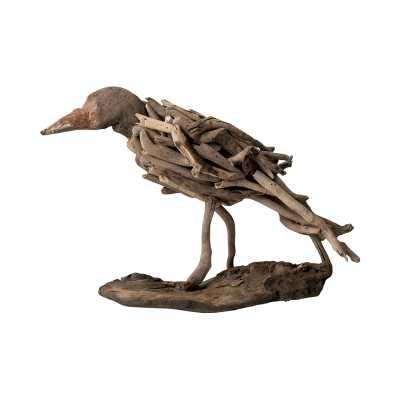 Natural Driftwood Bird - Rosen Studio
